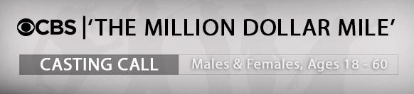 CBS The Million Dollar Mile