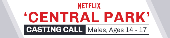 Netflix's Central Park Casting Call